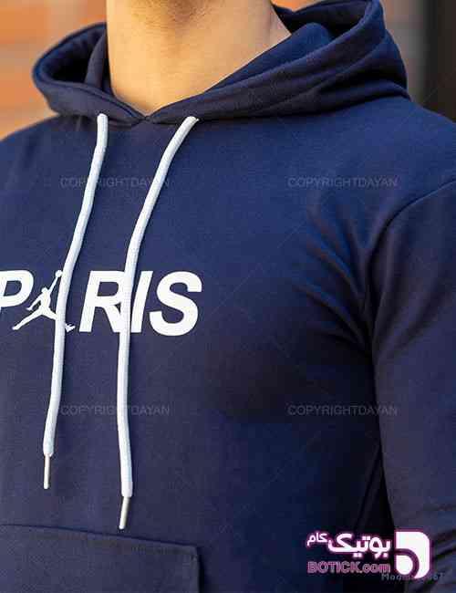 ست سویشرت و شلوار مردانه Paris مدل 10867 سورمه ای 98 2019