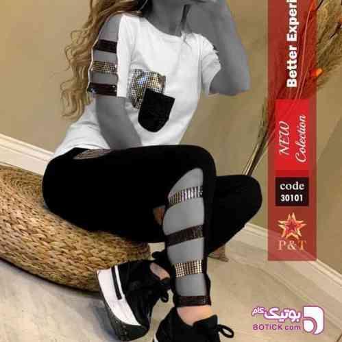 بلوز شلوار مشکی 98 2019