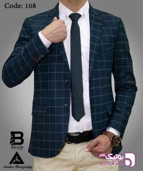 کت تک مردانه آبی 98 2019