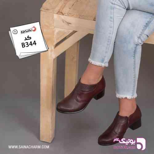 کفش مشکی 98 2019
