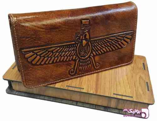 کیف پول کتی چرم مردانه- جعبه کادویی - كيف مردانه
