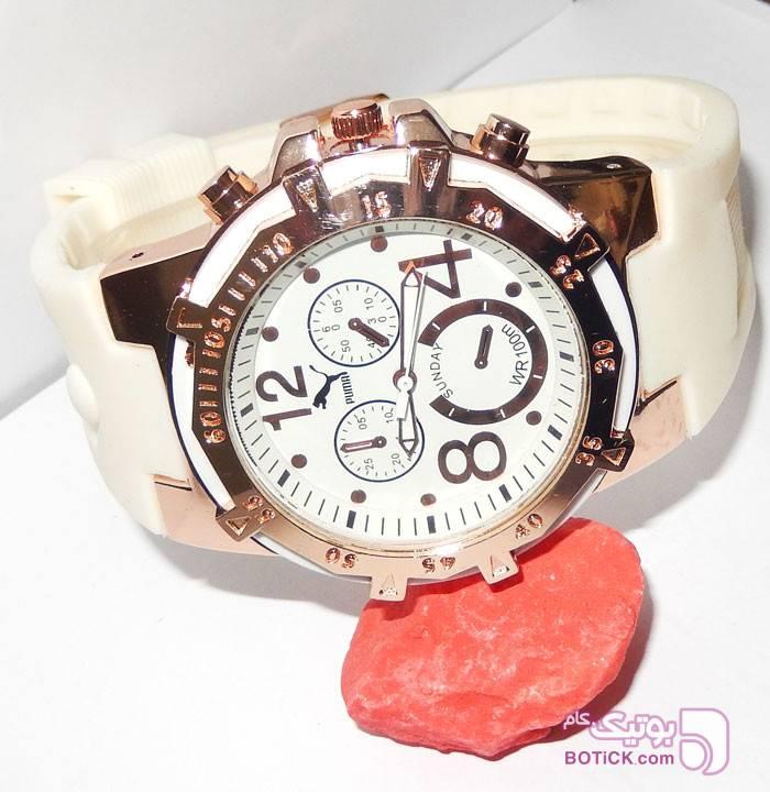 ساعت اسپرت پوما سفید PUMA مدل 5021 سفید ساعت