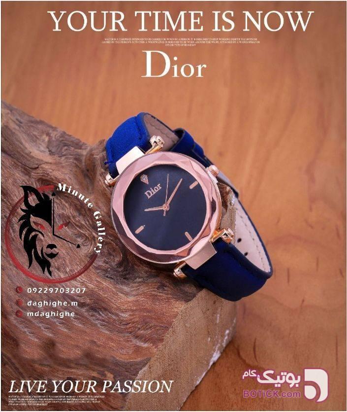 ساعت فانتزی زنانه Dior آبی ساعت