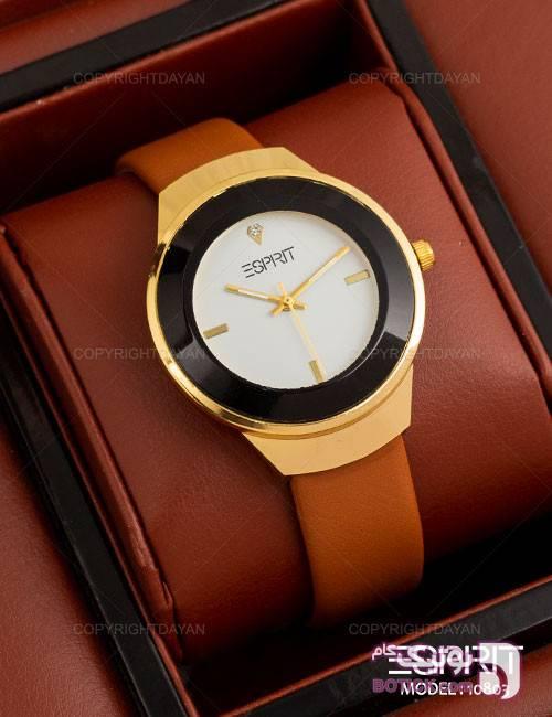 ساعت مچی زنانه Esprit مدل 10803 قهوه ای ساعت