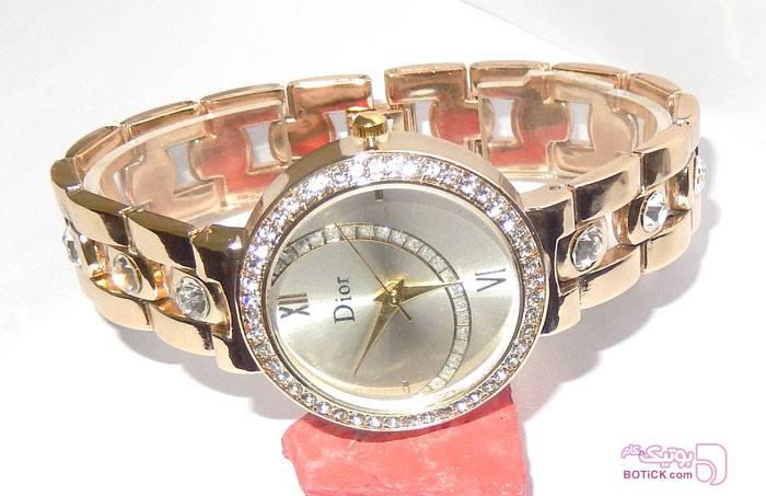 ساعت مچی طلایی DIOR مدل 9251 زرد ساعت