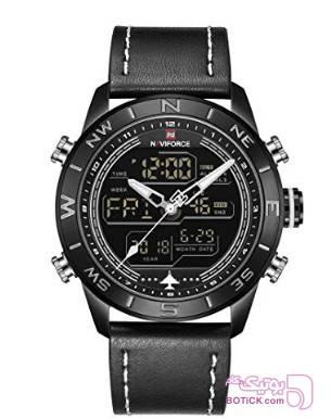 ساعت مچی عقربه ای نیوی فورس مدل NF9144 مشکی ساعت