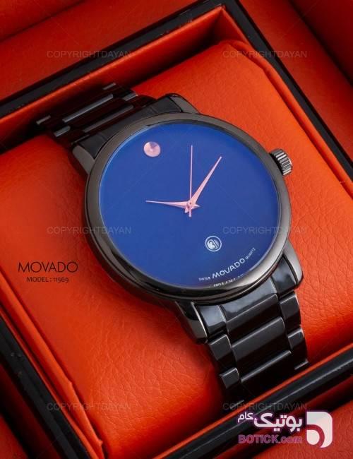 ساعت مچی مردانه Movado -کد 811569 مشکی ساعت