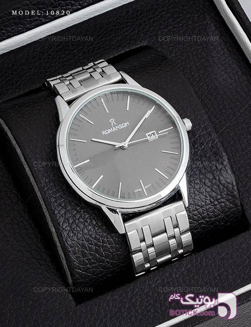 ساعت مچی مردانه Romanson مدل 10835 نقره ای ساعت