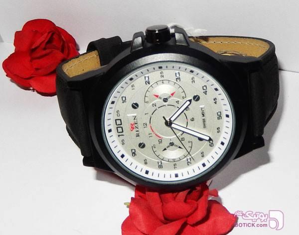 ساعت مچی  RIZEN مدل 0356 مشکی ساعت
