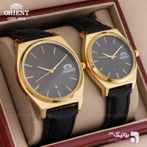 ست ساعت مردانه و زنانه Orient مدل W9912 مشکی ساعت