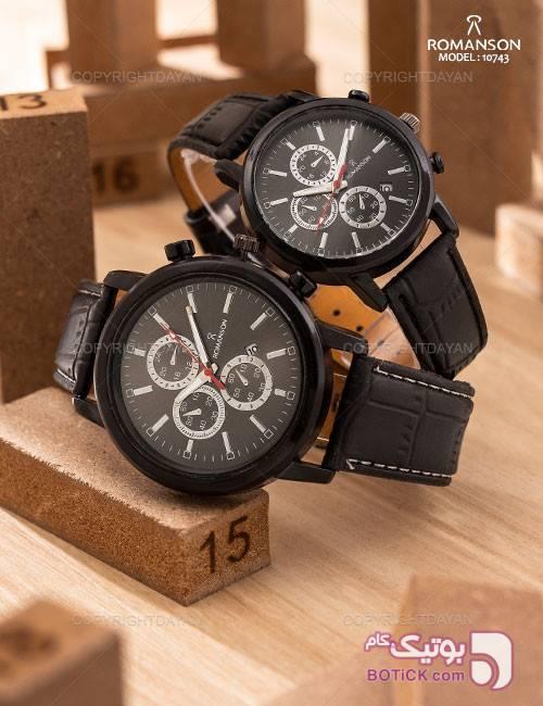 ست ساعت مچی Romanson مدل 10743 مشکی ساعت