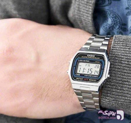 ساعت کاسیو  نقره ایCasio مدل A-159w نقره ای ساعت