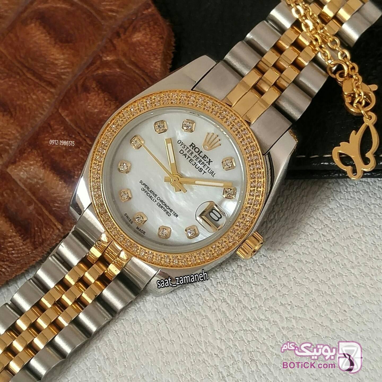 ROLEX زنانه زرد ساعت