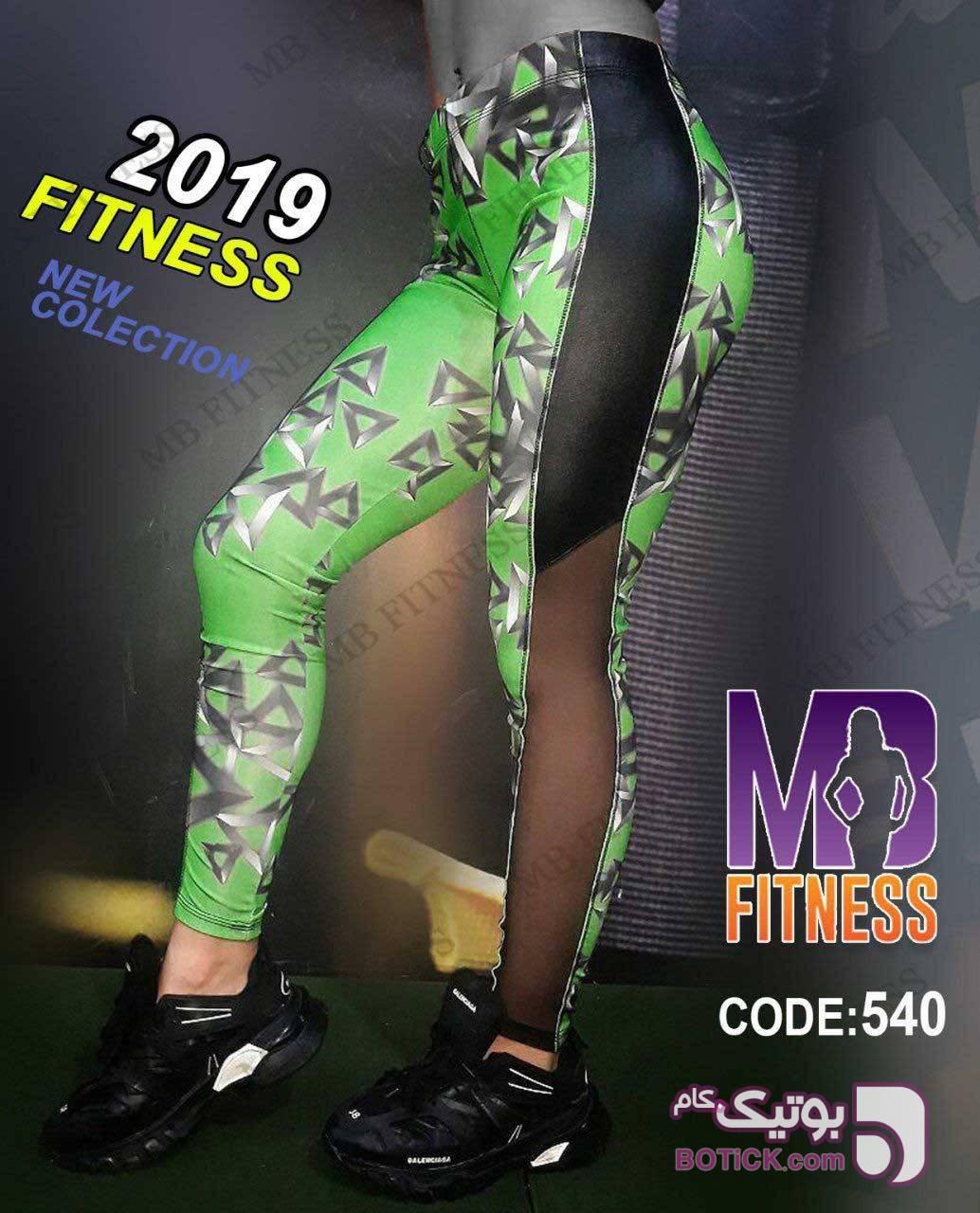 code:540 لگ اسپورت MB سبز ست ورزشی زنانه