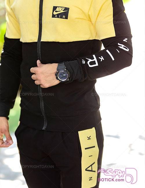 ست سویشرت و شلوار مردانه Nike مدل 10782 مشکی ست ورزشی مردانه