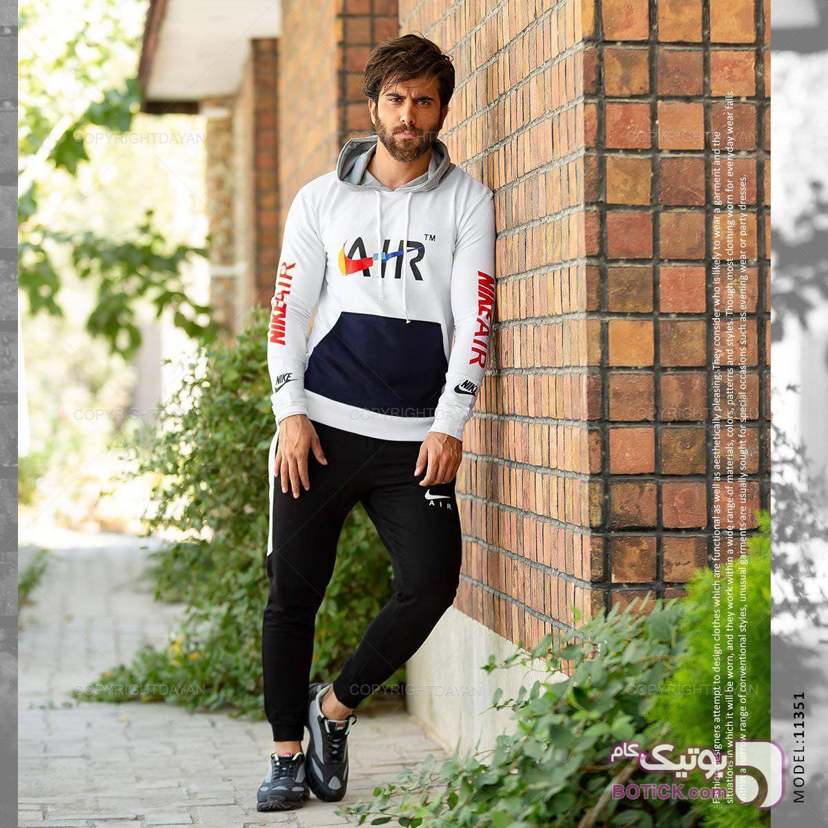 ست پیاده روی ایر (نایکی) مشکی ست ورزشی مردانه