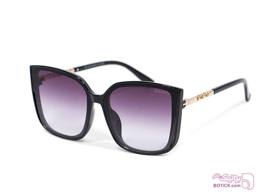 عینک آفتابی زنانه الدرادو مدل Z65-093 مشکی عینک آفتابی