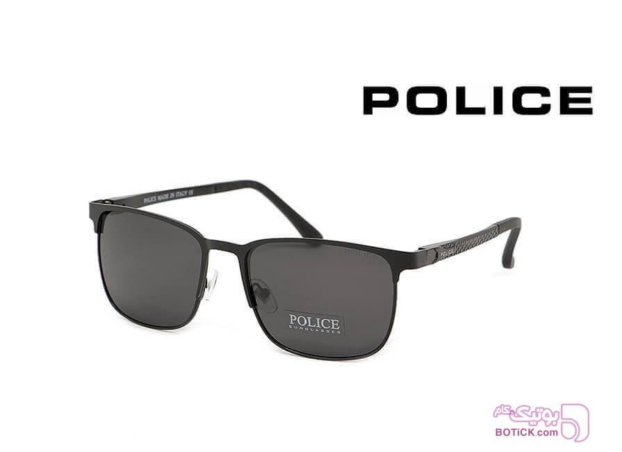عینک آفتابی پلارایز POLICE کد P5802 مشکی عینک آفتابی