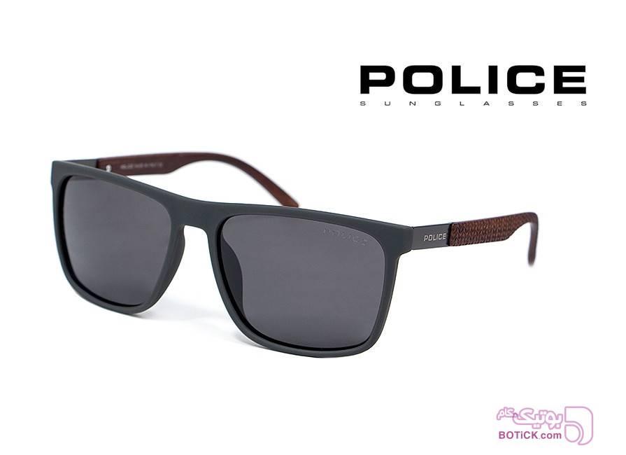 عینک آفتابی پلیس POLICE کد P9006 مشکی عینک آفتابی