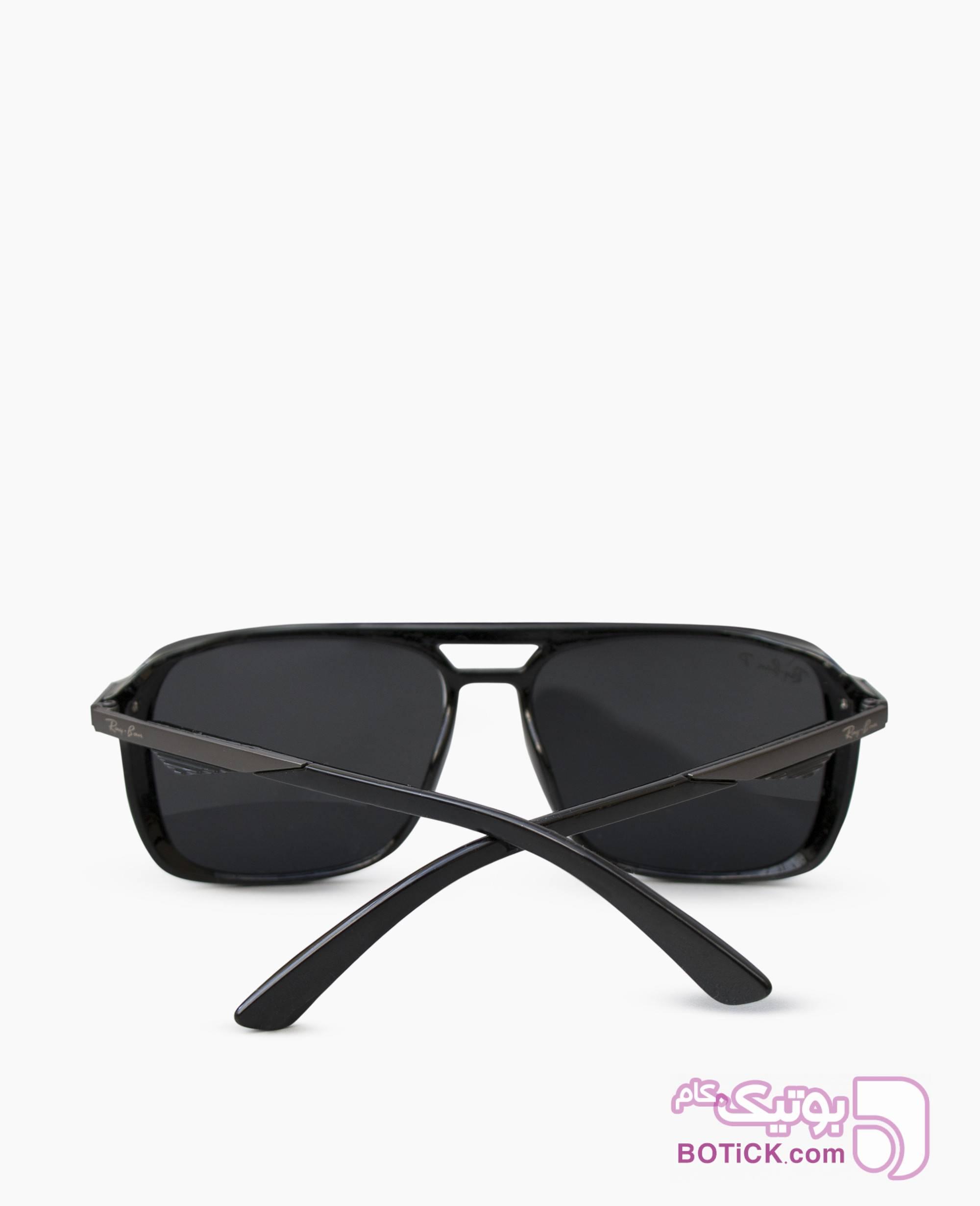 عینک افتابی RAY-BAN کد 347 مشکی عینک آفتابی