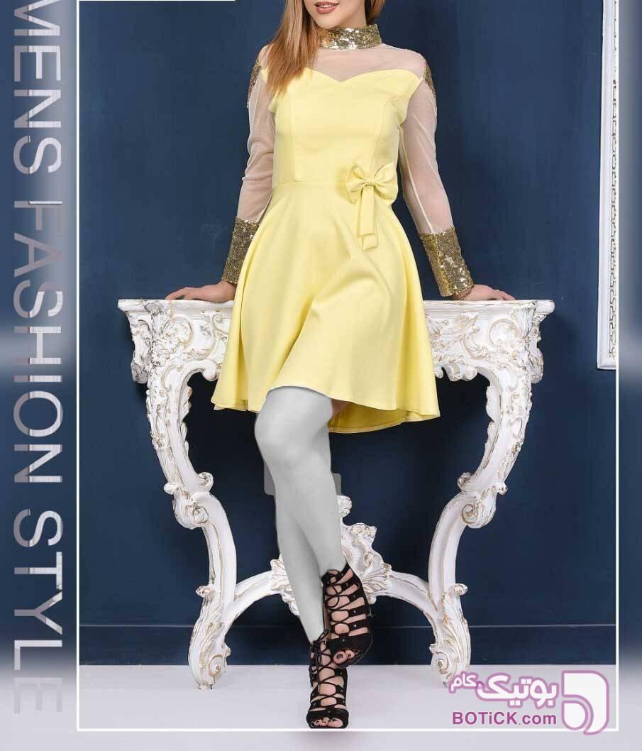 ونیزیا  زرد لباس  مجلسی