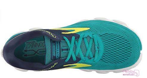 کفش و کتونی اسپرت زنانه بروکس مدل brooks 1202571b467 سبز كتانی زنانه