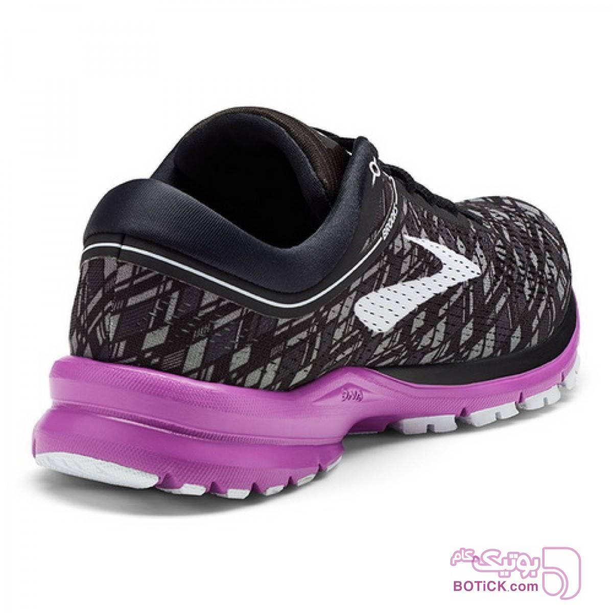 کفش و کتونی اسپرت زنانه بروکس مدل brooks 1202661b090 مشکی كتانی زنانه
