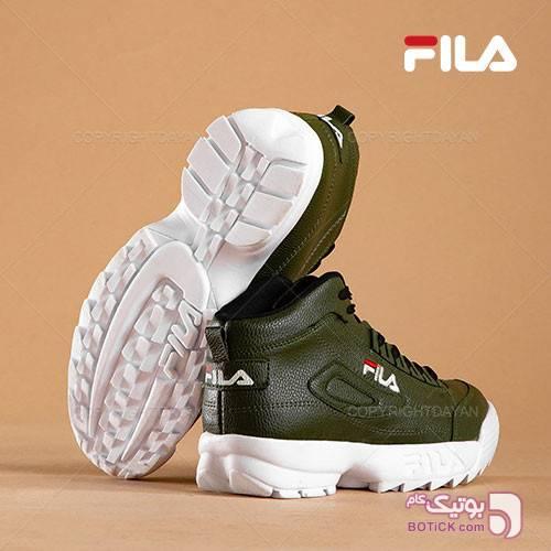 کفش ساقدار مردانه Fila مدل F1309 (سبز) سبز كتانی مردانه