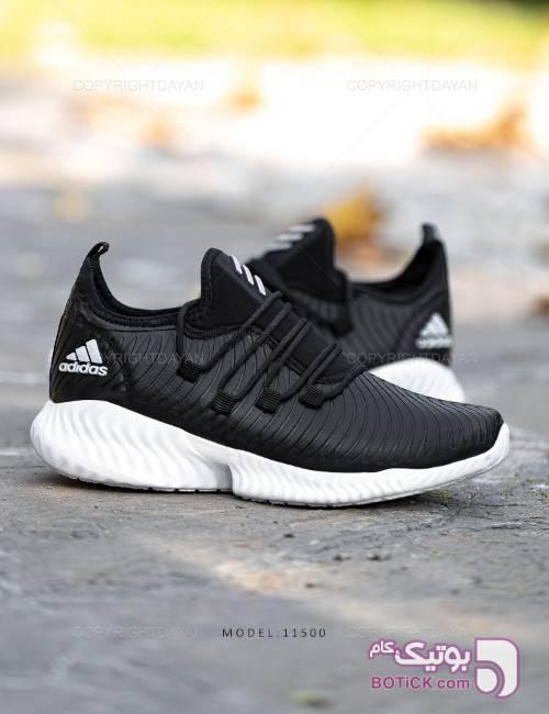 کفش مردانه Adidas مدل 11500 مشکی كتانی مردانه