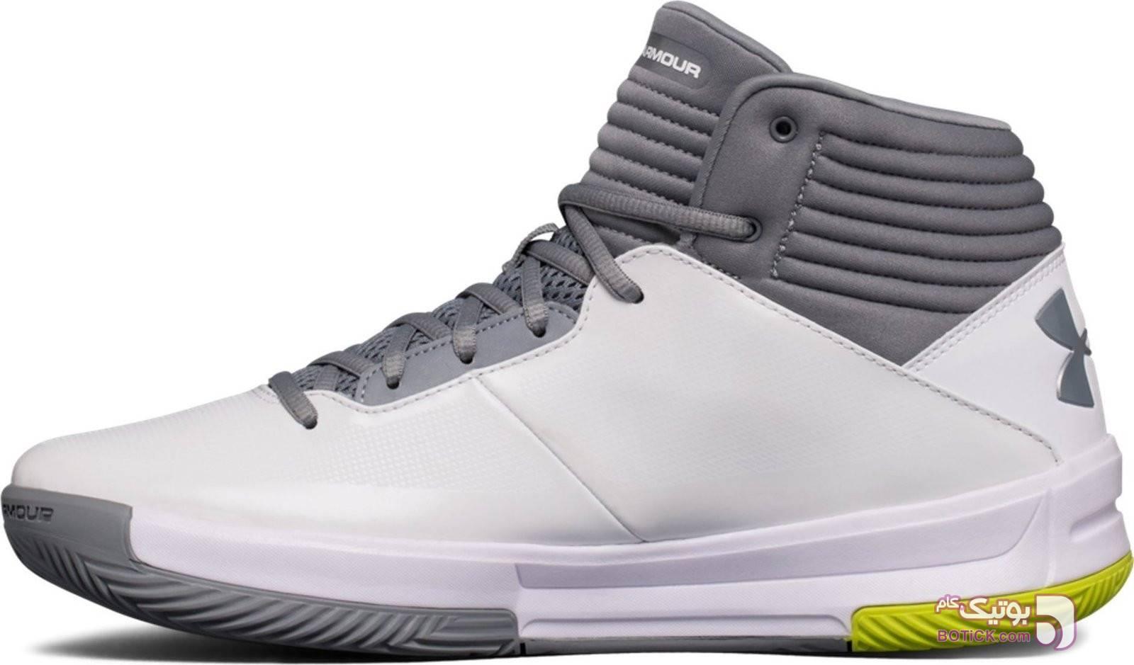 کفش و کتونی اسپرت مردانه آندر آرمور مدل Under Armour 1303265-100 سفید كتانی مردانه