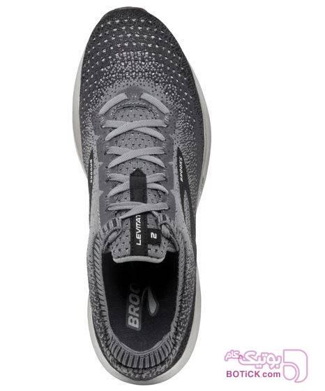 کفش و کتونی اسپرت مردانه بروکس مدل brooks 1102901d060 طوسی كتانی مردانه