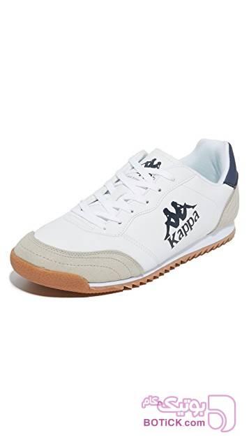 کفش و کتونی اسپرت مردانه کاپا مدل kappa denser dlx سفید كتانی مردانه