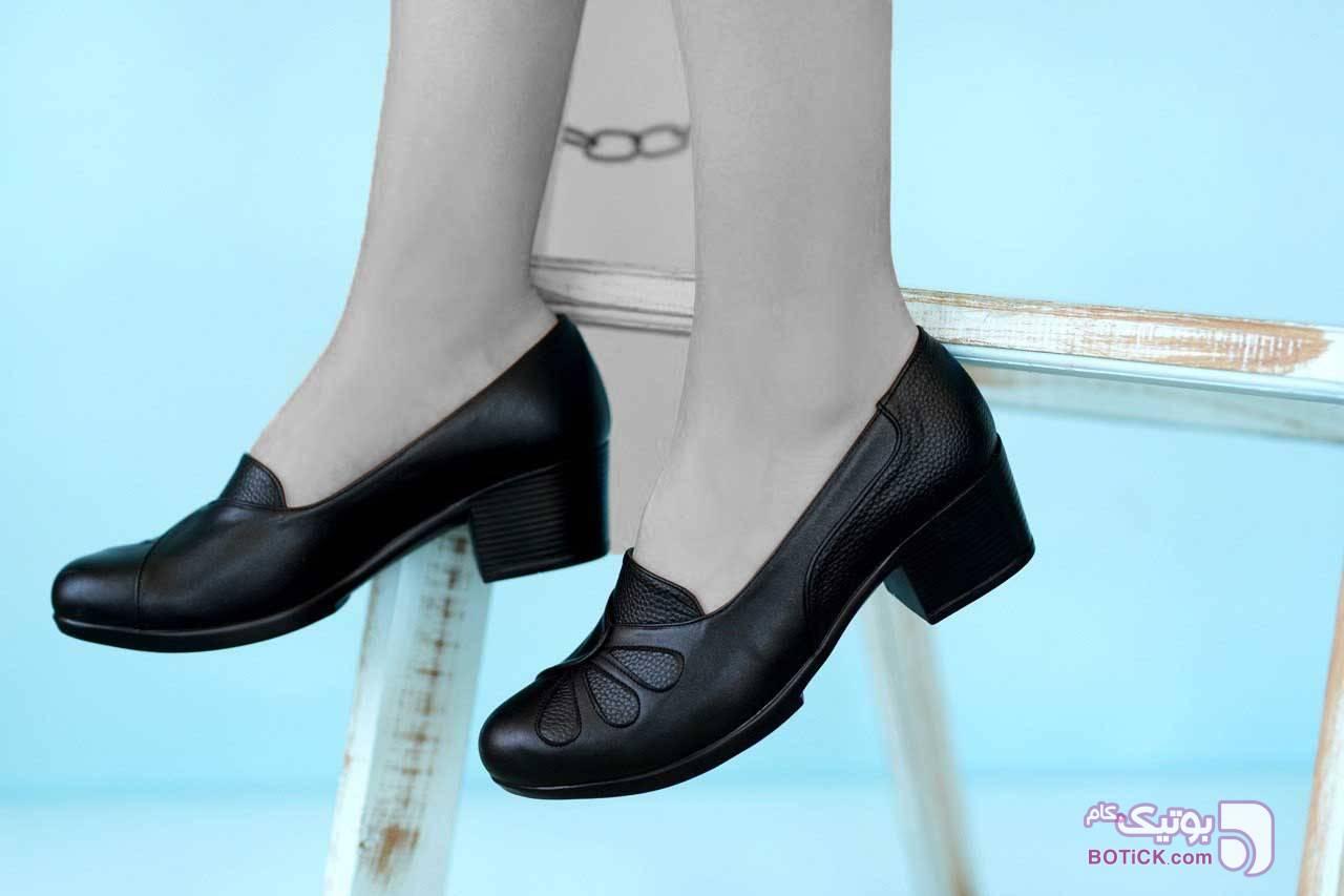 کد ۲۹۵ قالب استاندارد، زیره پیو مشکی كفش زنانه