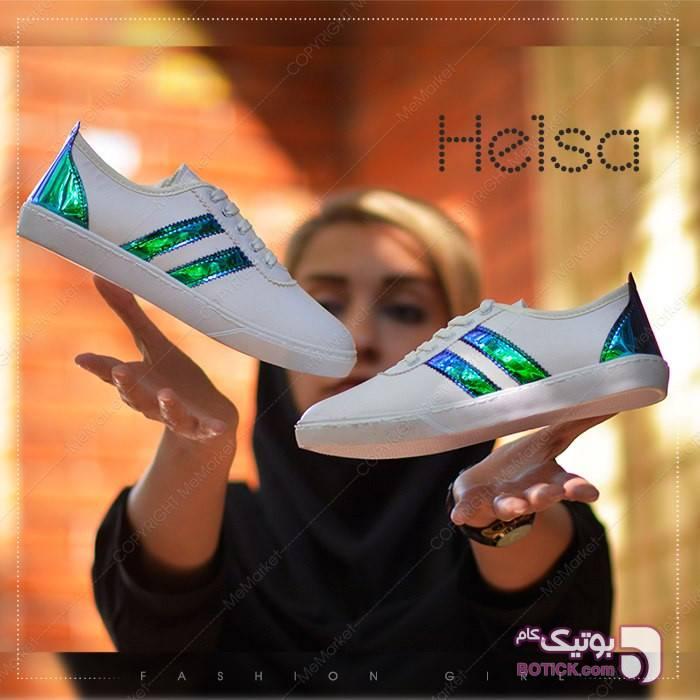 کفش دخترانه مدل HELSA سفید كفش زنانه