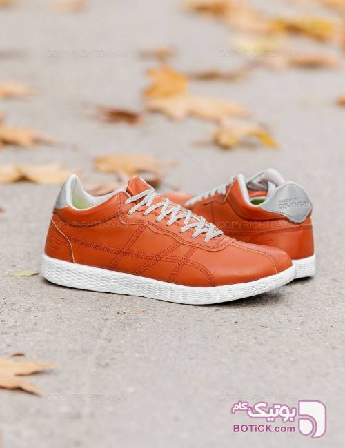 کفش مردانه Skechers مدل 11773 نارنجی كفش مردانه