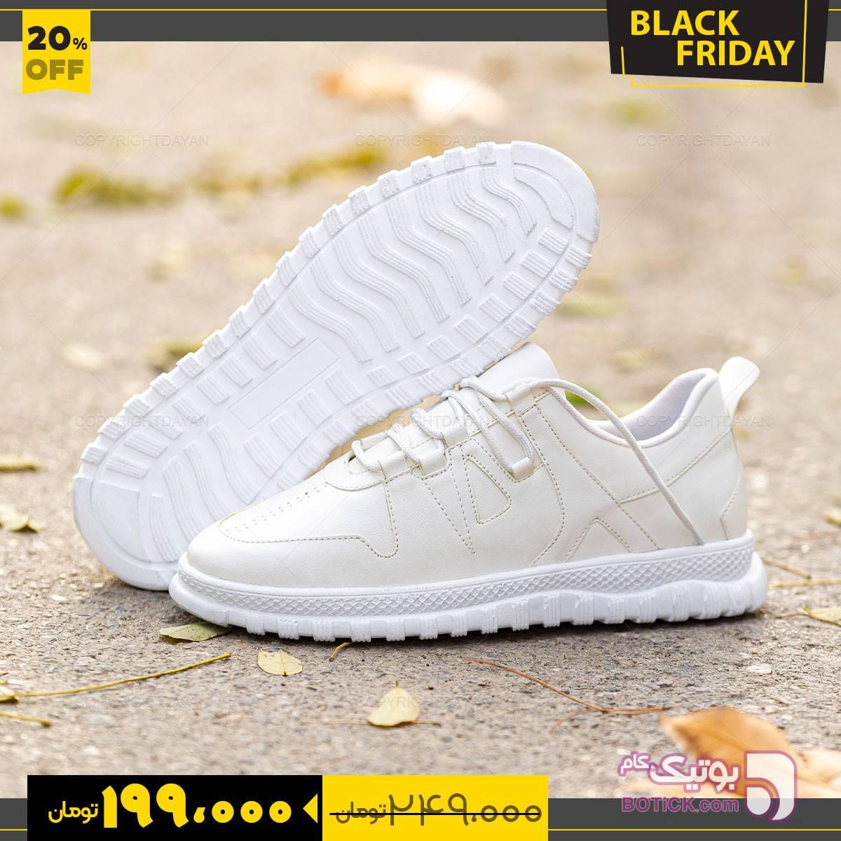 کفش  Batis  سفید كفش مردانه