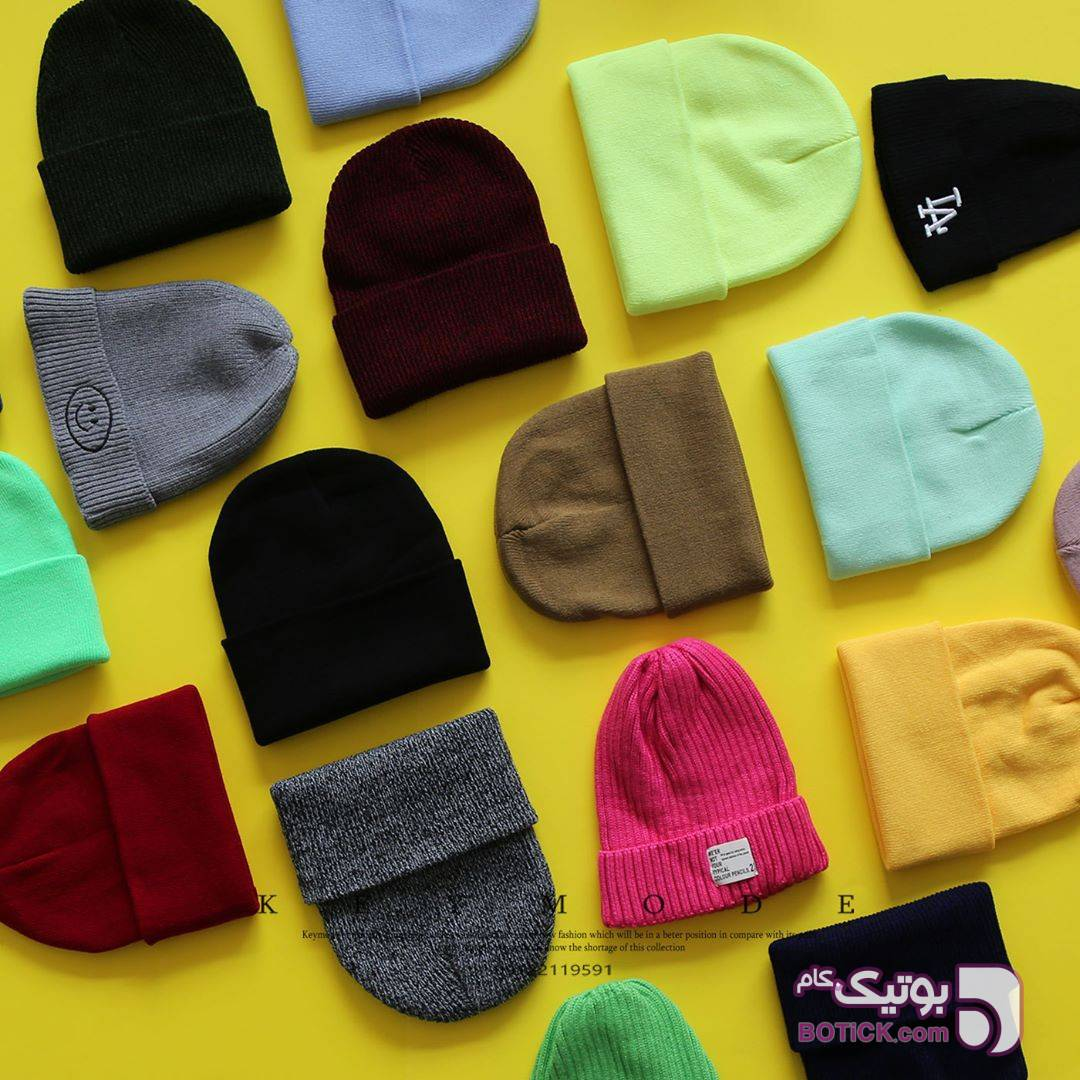 کلاه سبز کلاه بافت و شال گردن و دستکش