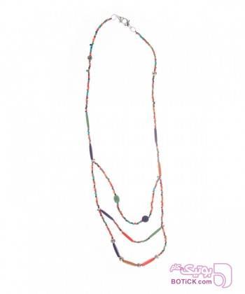 گردنبند زنانه جوتی جینز سورمه ای گردنبند