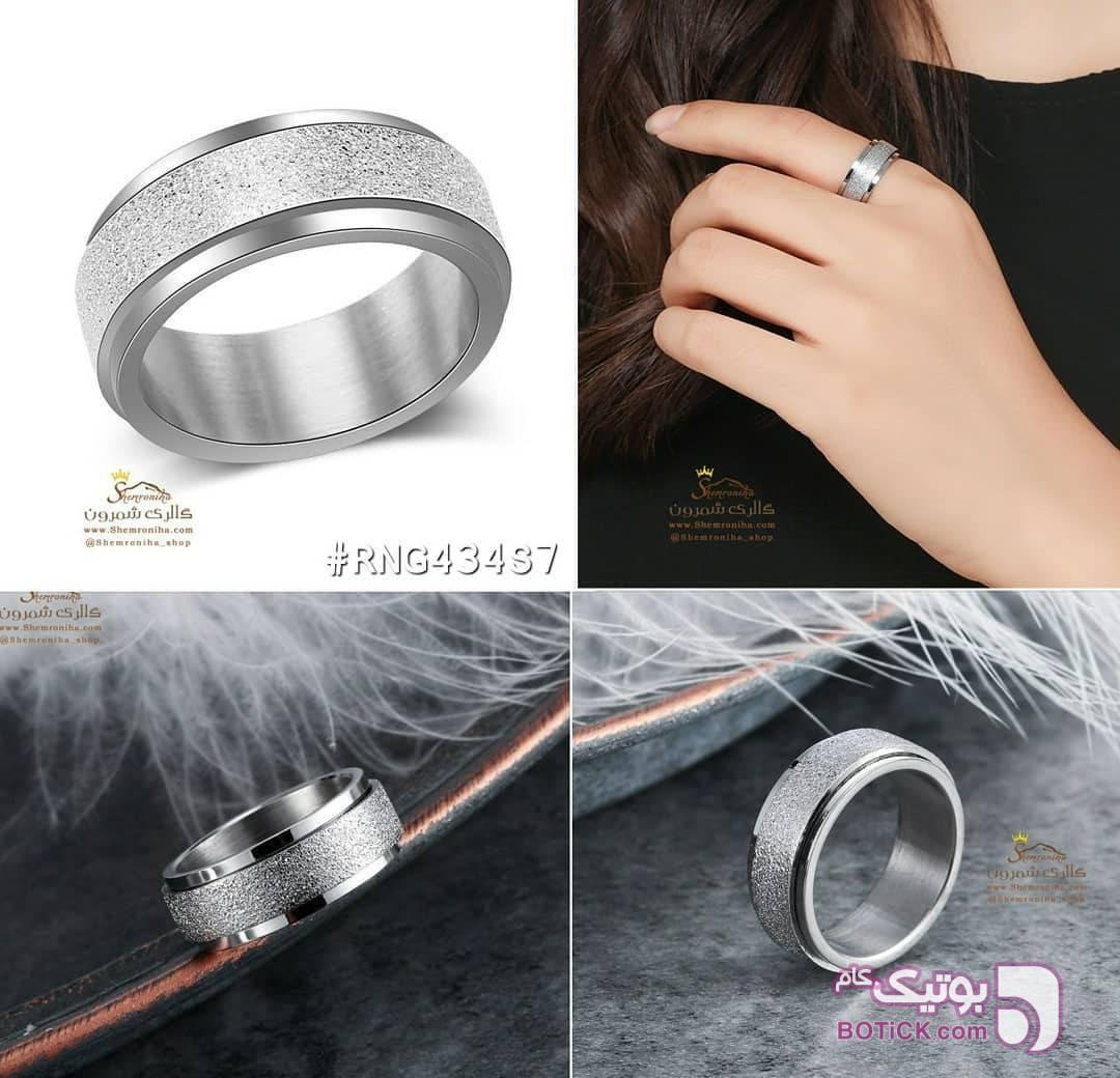 انگشتر حلقه زنانه نقره ای انگشتر