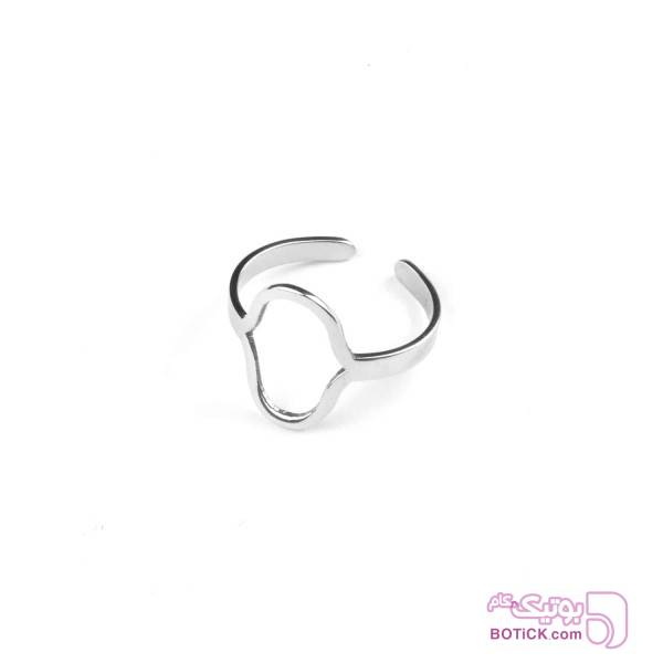 انگشتر استیل | R11  نقره ای انگشتر