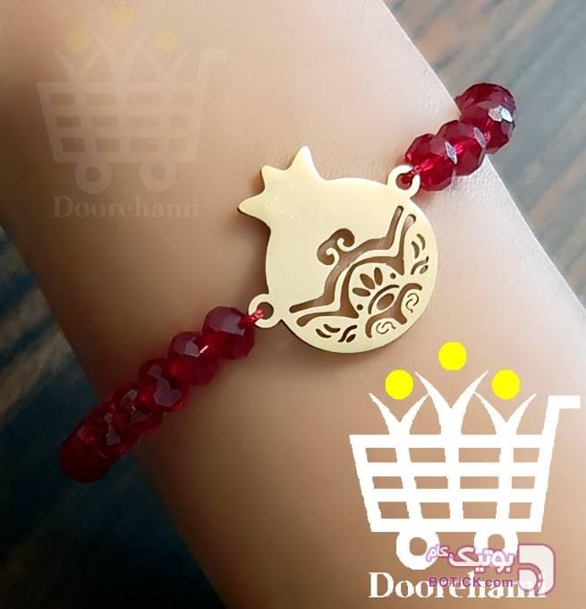 دستبند انار قرمز دستبند و پابند