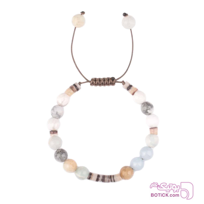 دستبند سنگ جید | صدف | LM150  فیروزه ای دستبند و پابند