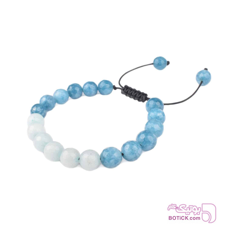 دستبند سنگ عقیق   LM186  آبی دستبند و پابند
