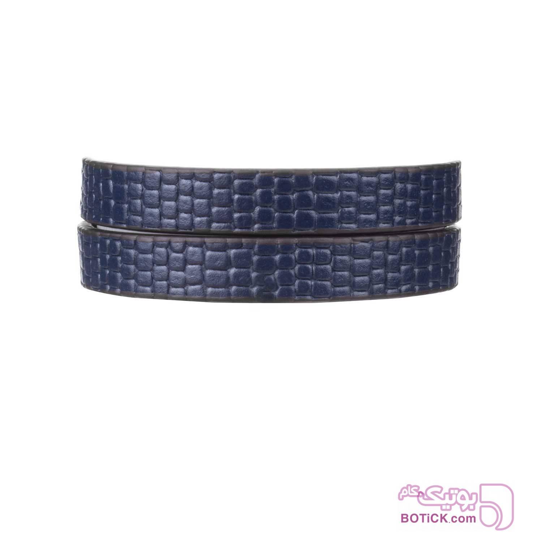 دستبند چرم سرمهای طرح لیزارد | LT5  سورمه ای دستبند و پابند