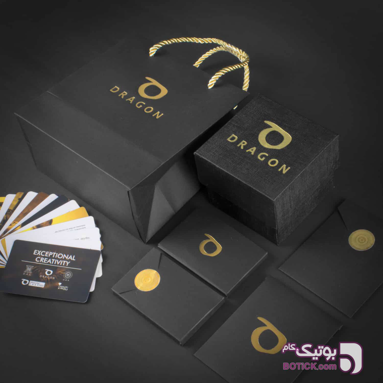 دستبند چرم مشکی لیزارد | طلا | SLT6  مشکی دستبند و پابند