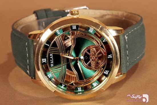 ساعت سه بعدی طرح والار مدل 810 سبز ساعت