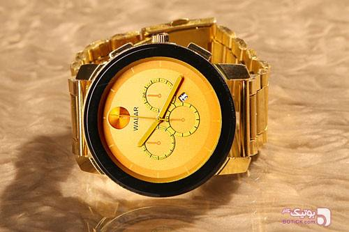 ساعت مردانه مایکل طرح والار زرد ساعت