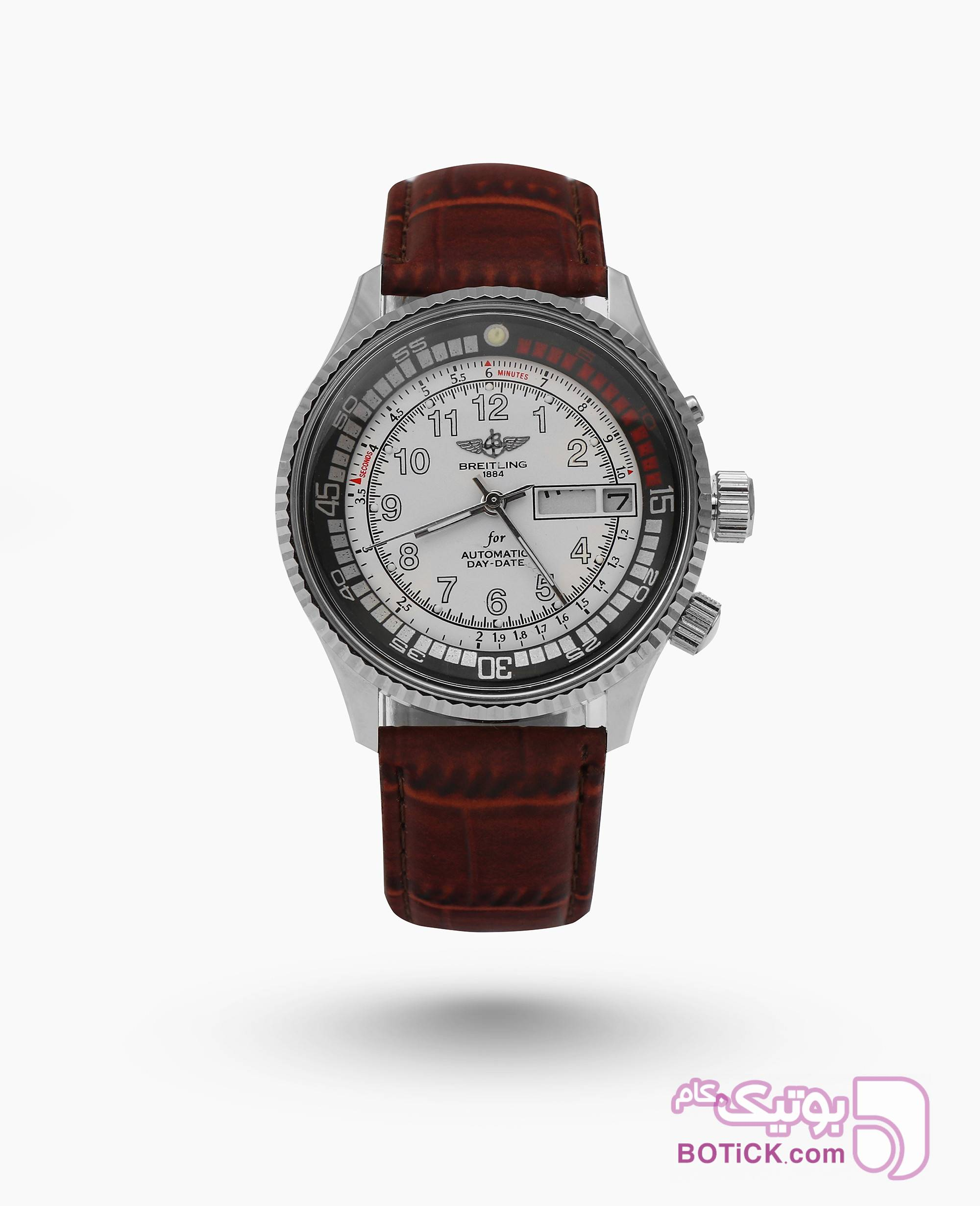 ساعت مچی اتوماتیک Breitling کد 1884 مشکی ساعت