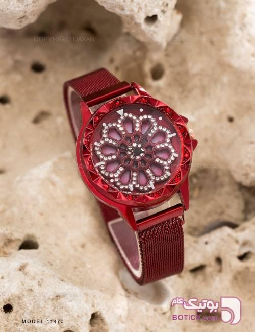 ساعت مچی زنانه Pink مدل 11470 قرمز ساعت