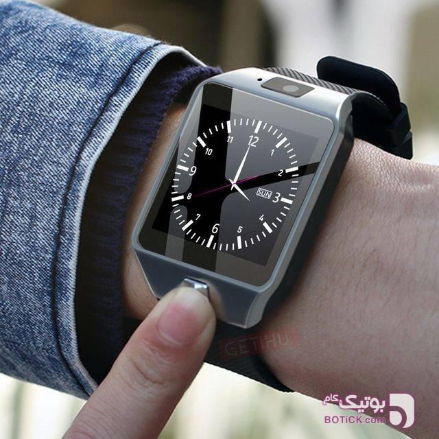 ساعت مچی هوشمند مشکی ساعت